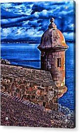 El Morro Fortress Acrylic Print by Thomas R Fletcher