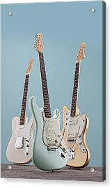 Electric Guitar Product Shoots Acrylic Print