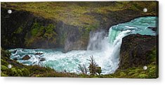 Elevated View Of The Salto Grande Acrylic Print by Panoramic Images