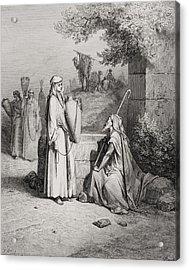 Eliezer And Rebekah Acrylic Print