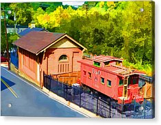 Ellicott City Station Acrylic Print