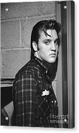 Elvis Presley 1956 Acrylic Print by The Harrington Collection