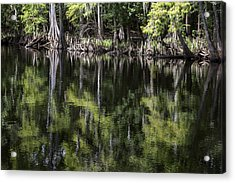 Emerald Reflections Acrylic Print