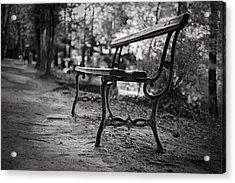 Acrylic Print featuring the photograph Emptiness by Antonio Jorge Nunes