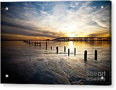 End Of Day Acrylic Print by Joan McCool