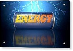 Energy Drink Can Acrylic Print