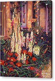 English Cottage Garden Acrylic Print