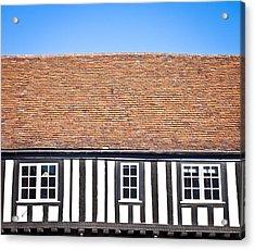 English House Acrylic Print by Tom Gowanlock
