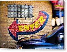 Enter Acrylic Print by Scott Pellegrin