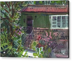 Acrylic Print featuring the painting Entrance by Donald Maier