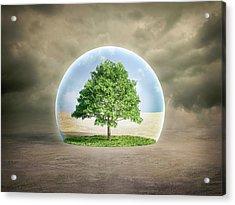 Environmental Protection Acrylic Print by Andrzej Wojcicki/science Photo Library