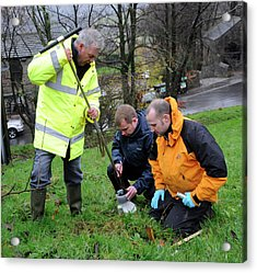Environmental Soil Monitoring Acrylic Print by Public Health England