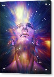 Epiphany Acrylic Print by Nate Owens
