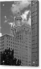 Esperson Buildings Houston Tx Acrylic Print by Christine Till