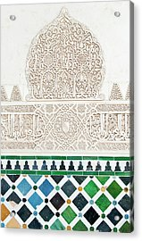 Europe, Spain, Andalusia, Granada Acrylic Print