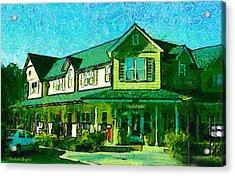 Evans Ranch Los Olivos California Acrylic Print by Barbara Snyder