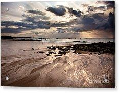 Evening At The Sea Acrylic Print by Nailia Schwarz