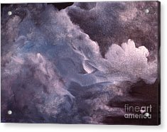 Evening Clouds Acrylic Print