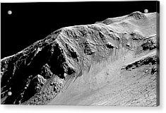 Evidence Of Water On Mars Acrylic Print by Nasa/jpl-caltech/univ. Of Arizona