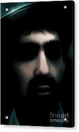 Evil Face Of Horror Acrylic Print