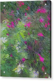 Expression Of Impressionism Acrylic Print by Rick Todaro