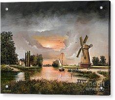 Fairhaven Mill Acrylic Print