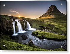 Fairy-tale Country Acrylic Print by Andreas Wonisch