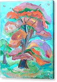 Fall Colors Acrylic Print by Brenda Ruark