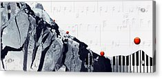 Fantasia - Piano Art By Sharon Cummings Acrylic Print by Sharon Cummings