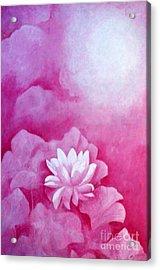 Fantasy Lotus Acrylic Print