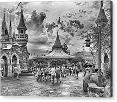 Acrylic Print featuring the photograph Fantasyland by Howard Salmon