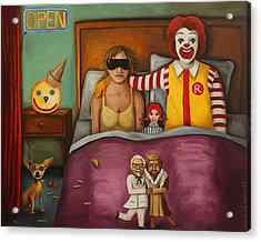 Fast Food Nightmare Acrylic Print