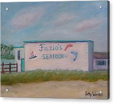 Fazios Seafood In St Augustine Florida Acrylic Print