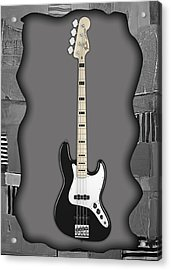 Fender Bass Guitar Collection Acrylic Print