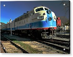 Acrylic Print featuring the photograph Fillmore 100 by Michael Gordon
