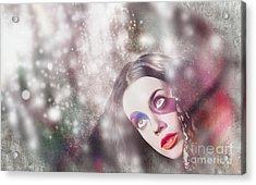 Fine Art Woman In Light Of Spiritual Awakening Acrylic Print by Jorgo Photography - Wall Art Gallery