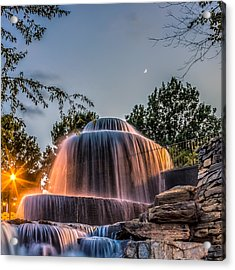 Acrylic Print featuring the photograph Finlay Park by Rob Sellers