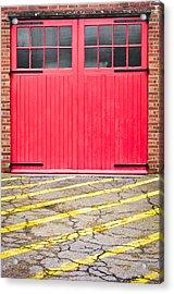 Fire Station Acrylic Print