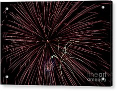 Fireworks Acrylic Print by Jason Meyer