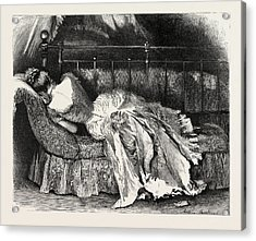 First Person Singular Acrylic Print by Hopkins, Arthur (1848-1930), English