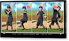 First Pitch Acrylic Print