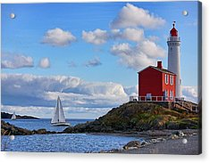 Fisgard Lighthouse Acrylic Print