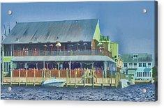 Fisherman's Village Acrylic Print