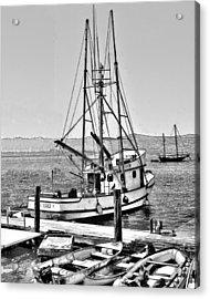 Fishing Boat Aquero Acrylic Print