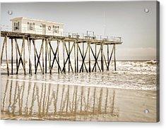 Fishing Pier Acrylic Print