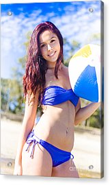 Fit Active And Healthy Lifestyle Acrylic Print
