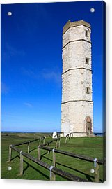 Flamborough Old Lighthouse Acrylic Print