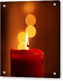 Acrylic Print featuring the photograph Flame And Glory by Rima Biswas