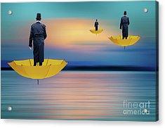 Pow Wow Flight Of Fancy Acrylic Print by Bob Christopher