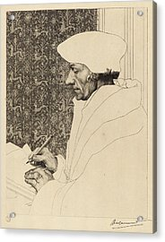 Félix Bracquemond French, 1833 - 1914 After Hans Holbein Acrylic Print